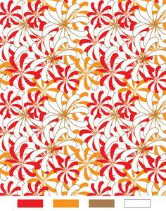 Textile Patterns | Floral Print for Textile Design