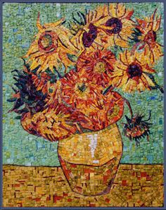 van gogh sunflowers cake | About Vincent van Gogh's Sunflowers , on BBC Four's Painting Flowers ...