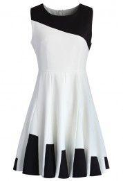 Key to Grace Flare Skater Dress