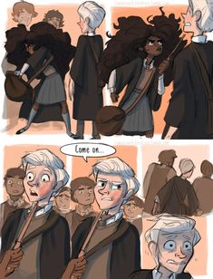 7 Powerful Harry Potter Scenes That Did Not Make It To The Movies Finally Come To Life Thanks To This Illustrator Harry Potter Comics, Fanart Harry Potter, Harry Potter Film, Harry Potter World, Arte Do Harry Potter, Harry Potter Wallpaper, Harry Potter Quotes, Harry Potter Love, Harry Potter Fandom