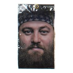 Duck Dynasty Bearded Bandana Willie Costume Accessory