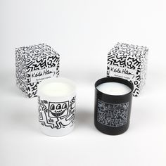 Ligne Blanche x Keith Haring Candles