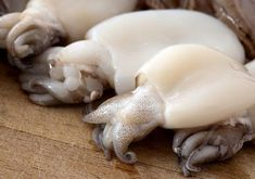 having parboiled is like hvng of squid semen w/ejaculatory apparatus,which can expel the sperm mass quite forcefully,& a cement body for attachment. Shellfish Recipes, Seafood Recipes, Cooking Recipes, Squid Dishes, The Ordinary, Garlic, Recipies, Food Porn, Soup