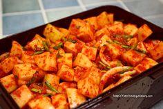 세미짱이 만드는즐거움, 맛보는행복 Korean Food, Kimchi, No Cook Meals, Sweet Potato, Food And Drink, Potatoes, Asian, Baking, Vegetables