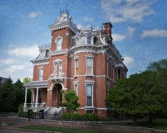 A stroll through time in the downtown preservation district in Evansville Indiana