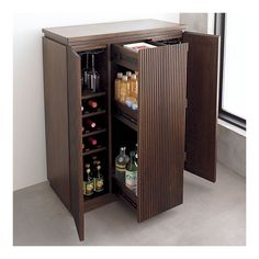 Awesome mini-bar solution. I need this for my dining room, like yesterday.