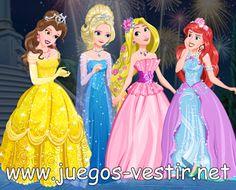Las #princesasdeDisney, Bella, #Elsa, #Rapunzel y Ariel han quedado para ir a una gala real en palacio #juegosdevestir   #juegosdeprincesas    http://www.juegos-vestir.net/jugar/las-princesas-de-disneyJuegos de Vestir: Google+