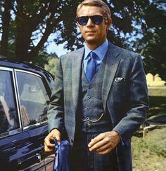 The Thomas Crown Affair - Steve McQueen Three-Piece Suit