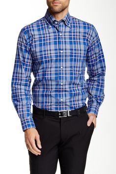Woven Long Sleeve Regular Fit Shirt