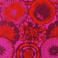 Mid-century Swedish textile design.