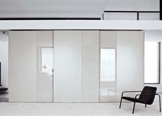 Offset Sliding Door Wardrobe
