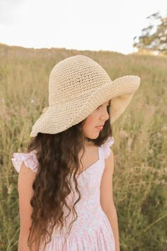 Lillybelle Dress Frankie Hat Baby Girl Accessories, Little Girls, Kids Fashion, Hats, Casual, How To Wear, Beautiful, Dresses, Vestidos