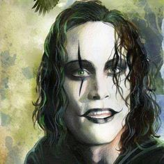 Beautiful, simply beautiful by Alessia Coppola check out her other artwork it's just simply beautiful Brandon Lee, Bruce Lee, Gothic Fantasy Art, Dark Fantasy, The Crow Quotes, Crow Movie, Crow Art, Film Base, Arte Horror