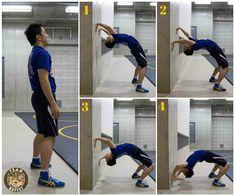 Bridging Exercises for Flexibility + Strength - Bridge Walk Downs