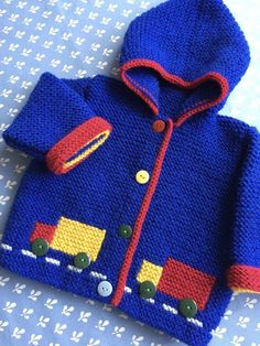 Baby Knitting Patterns Arm A warm and cosy Hooded Garter Stitch Jacket, it will keep baby warm during those…Blue Lawrie Baby Cardigan Knitting pattern by DaisyA heat and cosy Hooded Garter Sew Jacket, it can hold child heat throughout these early e Baby Boy Knitting Patterns, Baby Cardigan Knitting Pattern, Christmas Knitting Patterns, Crochet Jacket, Arm Knitting, Knitting For Kids, Knitting Designs, Baby Scarf, Baby Warmer