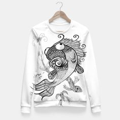 Weird Fish, Live Heroes - female sweatshirt - buy it here https://liveheroes.com/es/product/show/158043/VheAjQH8GjjkOMzKLaS5