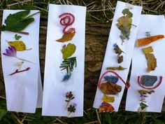 """Nature collages from 'Niki Willows - Outside' ("""",)"""