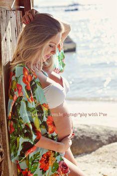book gestante na praia: