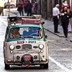 Fiat 600 multipla mister croccantino 1000 miglia by alberto.santucci, via Flickr