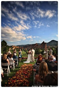 Colorado Wedding :) this is what I want