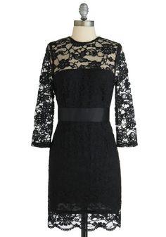 BB Dakota So Noir, So Good Dress   Mod Retro Vintage Dresses   ModCloth.com