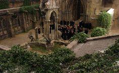 Clock Tower Cortyard - Hogwarts