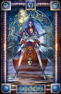 Belle Constantinne - 6 of  Swords