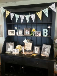 Cabinet. .all about the bride & groom.