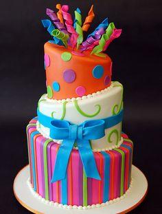 Topsy Turvy cake