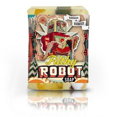 Love this line of soap from Hawaii: Filthy Farmgirl — Filthy Robot Soap - Cyber Mint Spice #soap