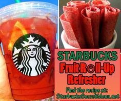 Kanalisieren Sie Ihr inneres Kind mit Starbucks Fruit Roll-up Refresher! Rezept: starbuckssecretme … Source by Related posts: No related posts. Starbucks Secret Menu Drinks, My Starbucks, Starbucks Recipes, Starbucks Flavors, Starbucks Crafts, Starbucks Hacks, Fruit Drinks, Yummy Drinks, Beverages