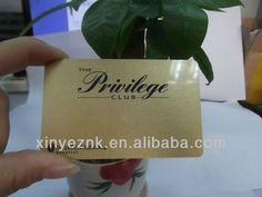 high qualilty customer design plastic coupon card