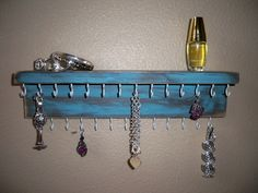 rustic necklace hanger - Google Search