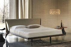 Nelson Designer Bed by Andrea Lucatello for Cattelan Italia