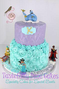 Tastefully Done: Disney Jasmine Aladdin Cake