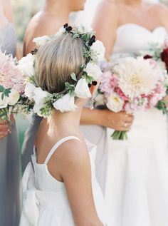 Summer solstice flower crowns: http://www.stylemepretty.com/2016/07/12/hot-summer-details-you-dont-want-to-miss-this-wedding-season/
