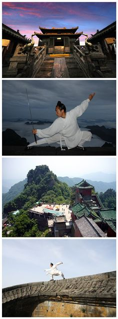 Wudang mountain in Hubei,China
