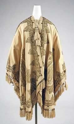 Opera Cloak Made Of Silk, By Lord & Taylor (Founded 1826) - American   c.1850's   -   The Metropolitan Museum Of Art