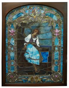 Absolutely lovely stained glass window.