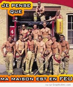 Est-ce que la température monte ? Besoin d'une assistance professionnelle par des hommes pompiers hautement sexy et qualifié ?