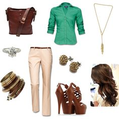 Brown Inspiration, created by eritter on Polyvore