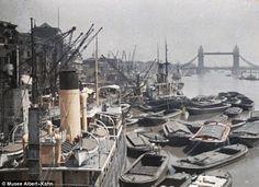 thames river, 1909 #london