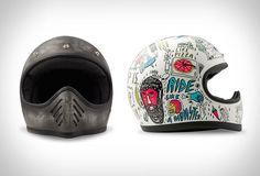 Antiquated+Illustrative+Helmets+:++Vintage+Motorbike