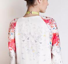 Christine Phung SS2013 Atmo Dress #ModeWalk #luxury #fashion #ChristinePhung #dress #kaleidoscope