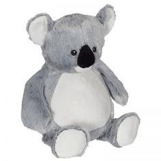 personalized baby gift, stuffed plush Koala Bear with name stuffed animal, koala, keepsake custom embroidery design, best baby gift ever Adoption Gifts, Embroidered Gifts, Echidna, Embroidery Supplies, Personalized Baby Gifts, Plush Animals, Boutique, Machine Embroidery, Embroidery Blanks