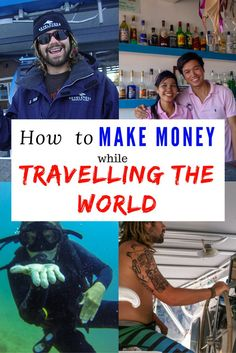 Wondering what the best travel jobs are? Then read our article about how to make money while travelling the world.   #traveling #workingholiday #traveljob #budgettravel #backpacking