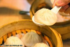 The best-selling Xiao Long Bao of Lucky Rainbow Seafood Restaurant! You should try some of these!