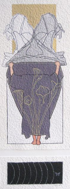 "Aquarelle ""Morning moth"" 2012"