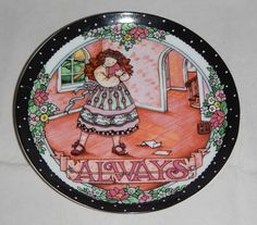 """I love this """"Always"""" decorative plate - Applause"""