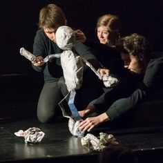 """""""Devised Puppetry Project"""" UCLA Undergraduate Theater Festival 2015"""